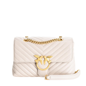 Love Lady Puff V Quilt cl. white PINKO