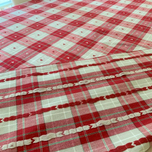 Tovaglie tinto in filo Tirolese