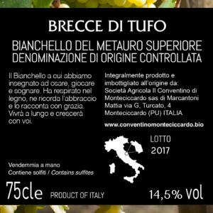 Brecce di Tufo - Bianchello del Metauro Superiore DOC 2017 - 75cl