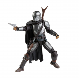 Star Wars Black Series The Mandalorian: THE MANDALORIAN (Beskar Armor) by Hasbro