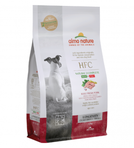 Almo Nature - HFC Dog - XS/S - Longevity - Maiale - 1.2kg