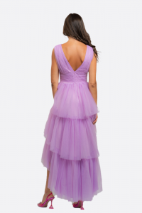 NOSECRETS 211NS067 Abito lungo in tulle