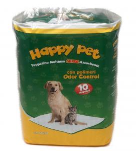 Happy Pet - Tappetini Assorbenti - 60x90cm - 2 confezioni