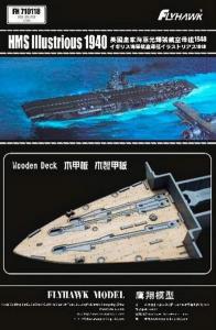 HMS Illustrious 1940, Wooden Deck