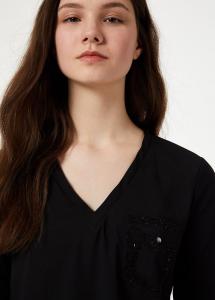 T-shirt dettaglio tasca - LIU JO
