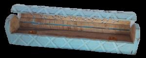 Porta incenso in legno di mango indiano