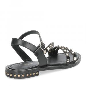 Il Laccio sandalo 707-60 borchie nero-5