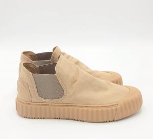 Sneaker Hit Sand basse in tessuto beige Elena Iachi