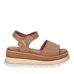 Rahya Grey sandalo Bea pelle cuoio-2