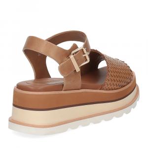 Rahya Grey sandalo Bea pelle cuoio-5