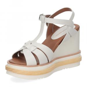 Rahya Grey sandalo krizia pelle bianco-4