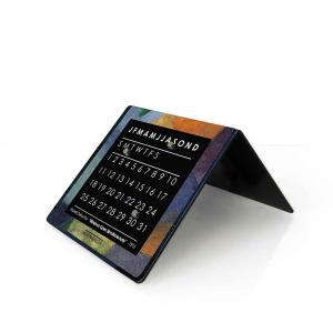 Orologio da tavolo con calendario perpetuo Delauney 10x10x10 cm