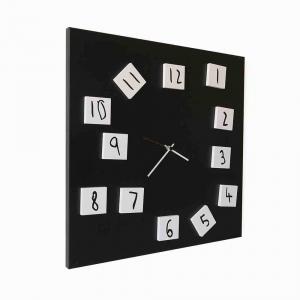 Orologio da muro Changing nero