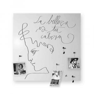 Organizer decorativo da muro La Beleza bianco