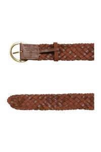 Cintura Love Berry Woven Belt cuoio Pinko