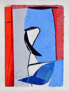 Cascella Tommaso Ottobre Serigrafia Formato cm 35x26