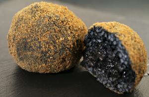 Arancine special al nero di seppia