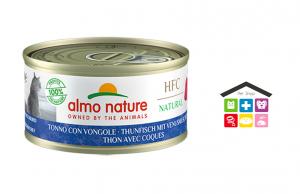 Almo Nature Umido HFC per Gatti - Tonno con vongole 0,70G