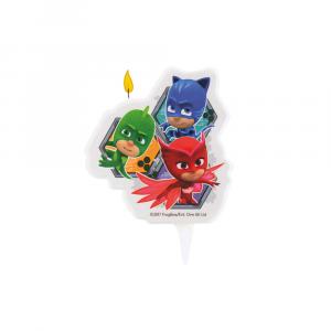 Candela per compleanno Pj Mask Super Pigiamini