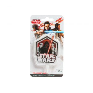 Candela per torte di compleanno decorativa - Star Wars