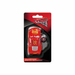Cars Candle 3D Cake Decoration