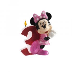 Candelina per compleanno Topolina Minnie nº 3