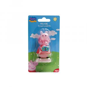 Peppa Pig birthday candle