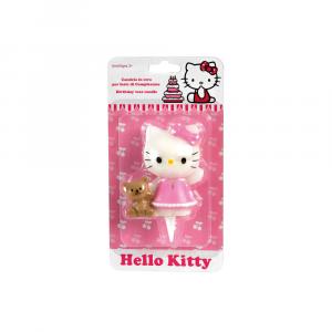 Hello Kitty Birthday Cake Candle