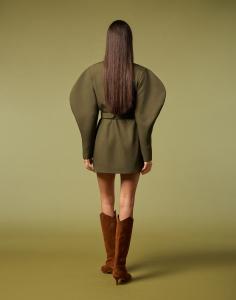 Minidress verde di Maria vittoria paolillo