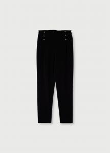 LIU JO TA1001T8423 Pantalone cropped con applicazioni