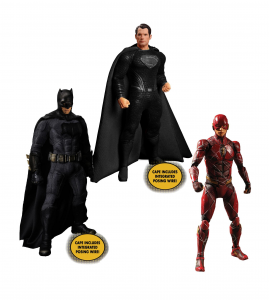 *PREORDER* Zack Snyder's Justice League: DELUXE STEEL BOX SET by Mezco Toys