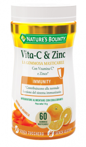 VITAMINA C & ZINCO NATURES'S BOUNTY