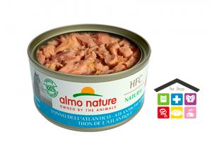 Almo Nature Umido HFC per Gatti - Tonno dell'Atlantico 0,70G
