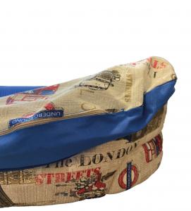 Homerdog - Cuccia con Cuscino in Cotone - mis.7