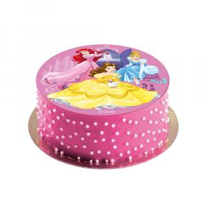 Cialda per torte personalizzata Principesse