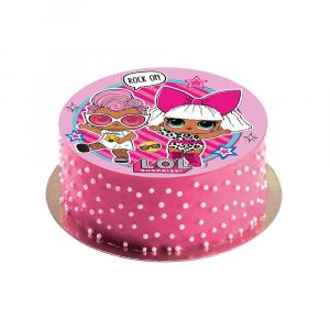 Cialda per torte personalizzata LOL Surprise