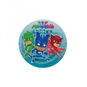Disco decorativo per torte - Eroi PJ Mask Super Pigiamini