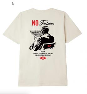 T-Shirt Obey No Future Cream