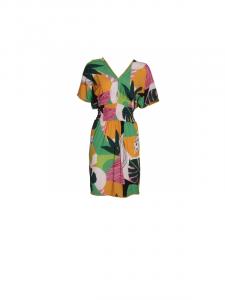 Robe courte imprimée | Vente robes femme printemps-été