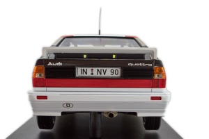 Audi Sport Quattro Mikkola Hertz Winner International Swedish Rally 1981 #2 1/18 Minichamps