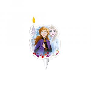 Candela per torta di compleanno Frozen