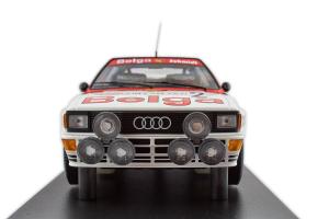 Audi Quattro A2 Belga Team Waldegaard Thorzelius Winners Boucles De Spa #2 1985 1/18 Minichamps