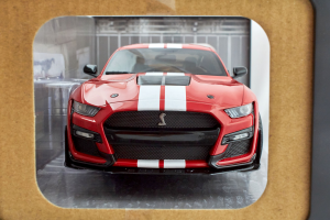 Ford Shelby Gt500 Fast Track Red 2020 1/18 Solido