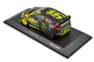 Ford Fiesta Rs Wrc Rossi Cassina VR46 2nd Place Monza Rally Show 2013 1/18 Minichamps
