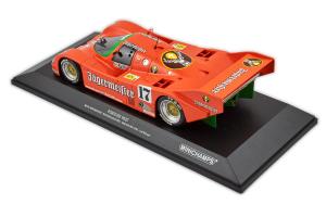 Porsche 962c Brun Motorsport Boutsen Jelinski 1000 Km Spa 1986 #17 1/18 Minichamps