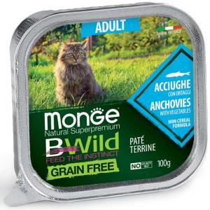 Monge Bwild gatto Paté terrine vari gusti – Adult 100gr