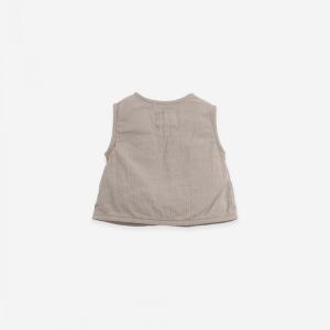 Blusa in tessuto