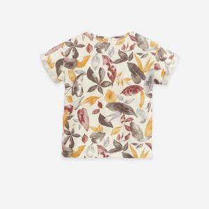 COTONE BIOLOGICO PRIVO DI SOSTANZE NOCIVE T-Shirt in cotone biologico e lino