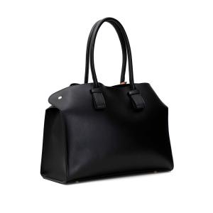 Shopping Bag con taglio a vivo
