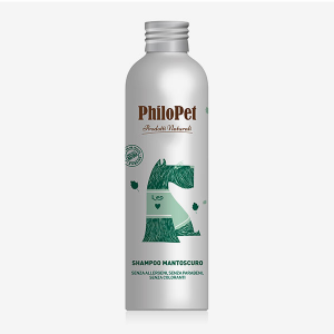 PHILOPET SHAMPOO MANTO SCURO